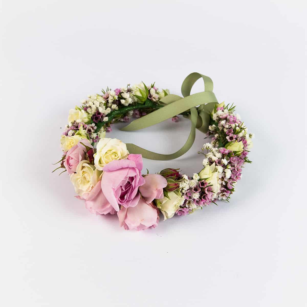Fresh flower crowns the petal provedore melbourne flower crowns izmirmasajfo Images
