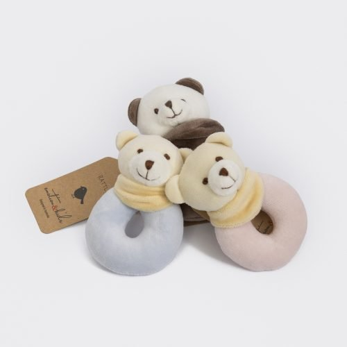 Emotion and Kids Velour Rattle