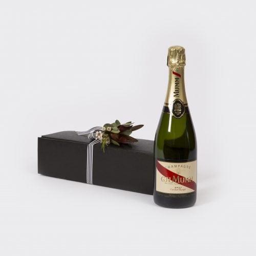 Mumm Champagne. The Petal Provedore. Melbourne.