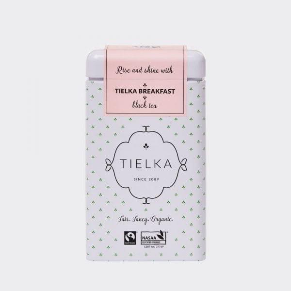 Tielka Breakfast Tea Tin for Tea For Two Gift Hamper