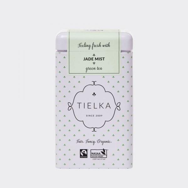Tielka Tea Tin Jade Mist for Tea For Two Gift Hamper
