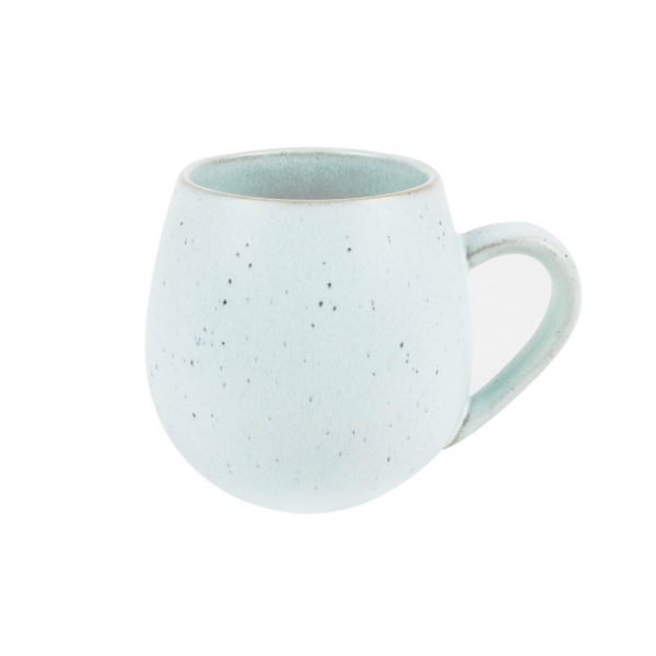 Green Speckled Hug Me Mug. The P{etal Provedore. Melbourne