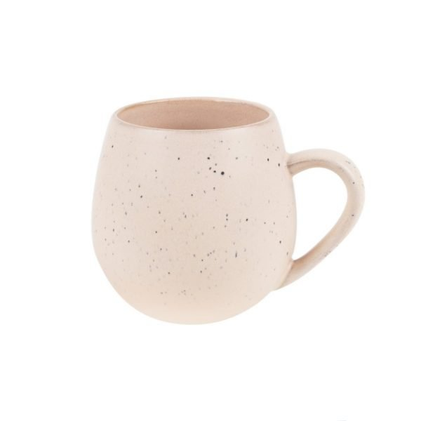 Pink Speckled Hug Me Mug. The Petal Provedore. Melbourne.