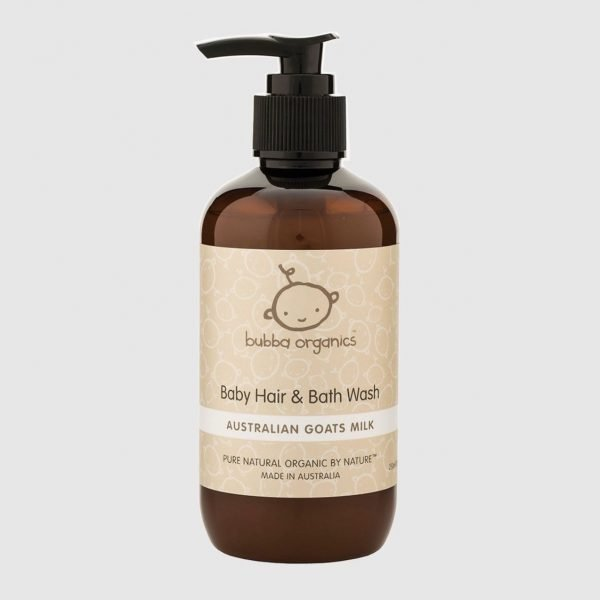 Bubba Organics Baby Hair and Bath Wash for Hey Baby Gift Hamper The Petal Provedore Melbourne