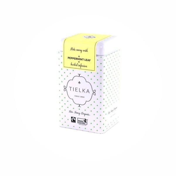 Tielka Peppermint Leaf Tea Tin