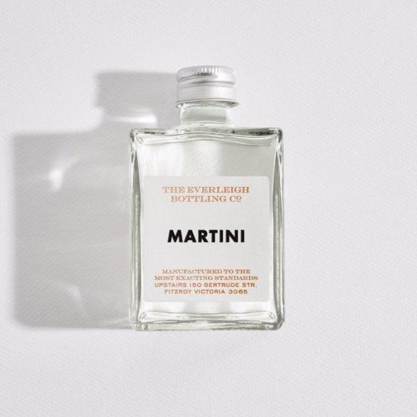 Martini Single Cocktail. The Petal Provedore. Melbourne.