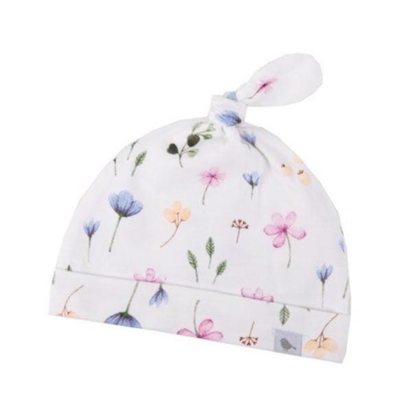 Fleur Organic Cotton Baby Beanie. The Petal Provedore. Melbourne.