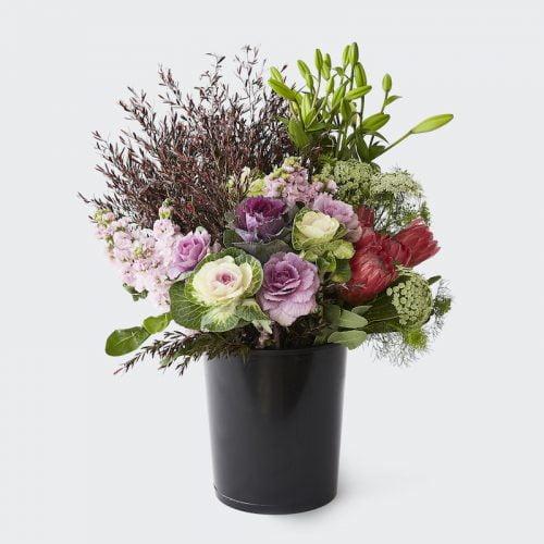 Bucket Of Blooms. The Petal Provedore. Melbourne.