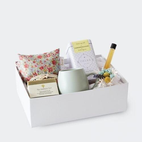 Little Box of Comfort Gift Hamper. The Petal Provedore. Melbourne.