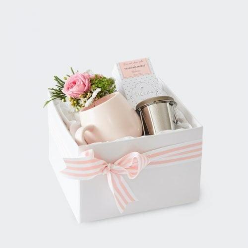 Tea Time Gift Hamper. The Petal Provedore. Melbourne.